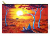 African Sunset Meditation Carry-all Pouch