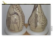 African Terracotta Gourds - View Three Carry-all Pouch