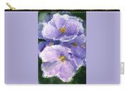 African Violet Carry-all Pouch