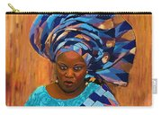 African Woman 5 Carry-all Pouch