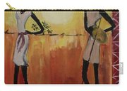 Afro Abstract Carry-all Pouch