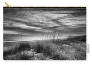 After Sunset In B And W Carry-all Pouch