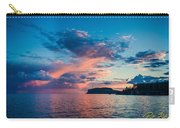 Afterglow On The Lakeshore Carry-all Pouch
