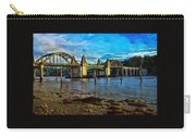 Afternoon At Siuslaw River Bridge Carry-all Pouch