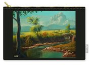 Afternoon By The River With Peaceful Landscape L A S Carry-all Pouch