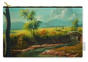 Afternoon By The River With Peaceful Landscape L B Carry-all Pouch
