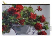 Afternoon Geraniums Carry-all Pouch