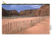 Afternoon In Snow Canyon Carry-all Pouch