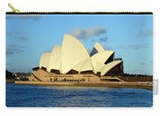 Afternoon Light On The Sydney Opera House Carry-all Pouch