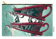Afternoon Tea Aqua Carry-all Pouch