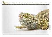 Agama Lizard Closeup Carry-all Pouch