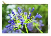 Agapanthus Bokeh Carry-all Pouch