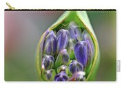 Agapanthus Bud Carry-all Pouch