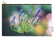 Agapanthus Dawn Carry-all Pouch