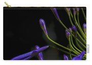 Agapanthus In The Shadows Carry-all Pouch