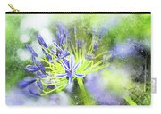 Agapanthus Perfection Carry-all Pouch