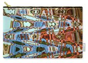 Agate Beach Tree Abstract Carry-all Pouch