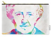 Agatha Christie Watercolor Tribute Carry-all Pouch