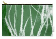 Agave- Abstract Art By Linda Woods Carry-all Pouch