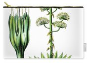 Agave Americana, Common Names Century Plant, Maguey Or American  Carry-all Pouch