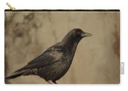 Age Old Crow  Carry-all Pouch