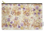 Aged Flower Clown Pattern Carry-all Pouch