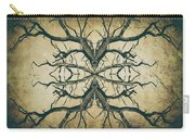 Aged Sepia Tree Dual Carry-all Pouch