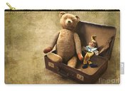 Aged Toys Carry-all Pouch