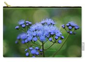 Ageratum Blue Carry-all Pouch