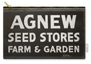 Agnew Seeds Roanoke Virginia Carry-all Pouch