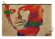 Aidan Turner As Poldark Watercolor Portrait Carry-all Pouch