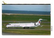 Air Canada Express Crj Taxis Into The Terminal Carry-all Pouch