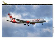 Air Canada Rouge Boeing 767-35h 118 Carry-all Pouch