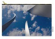 Air Force Memorial Carry-all Pouch by Louise Heusinkveld