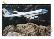 Air Force One Flying Over Mount Rushmore Carry-all Pouch