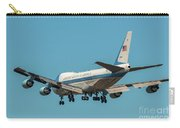 Air Force One On Final Approach Into Charleston South Carolina Carry-all Pouch