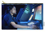 Air Traffic Controller Monitors Marine Carry-all Pouch by Stocktrek Images