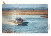 Airboat Rides Carry-all Pouch