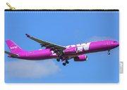 Airbus A330-343e Wow Air Carry-all Pouch
