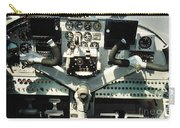 Aircraft Airplane Control Panel Carry-all Pouch