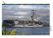 Aircraft Carrier Uss Abraham Lincoln Carry-all Pouch