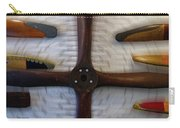 Airplane Wooden Propellers 01 Carry-all Pouch