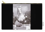 Airs Above The Ground - Lipizzan Stallion Rearing Carry-all Pouch