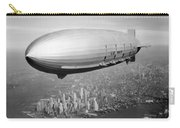 Airship Flying Over New York City Carry-all Pouch