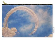 Airshow At The Lou Carry-all Pouch by Susan Rissi Tregoning