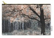 Airy Autumn In Woods Carry-all Pouch