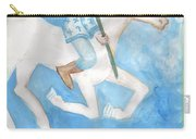 Airy Knight Of Wands Carry-all Pouch