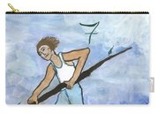 Airy Seven Of Wands Illustrated Carry-all Pouch