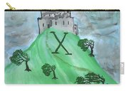 Airy Ten Of Wands Illustrated Carry-all Pouch