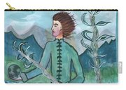 Airy Two Of Wands Illustrated Carry-all Pouch